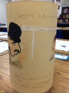 Journey to a New Land Message in a Bottle