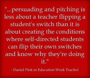 dan pink flip switch quote