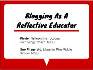 Reflective educator palooza