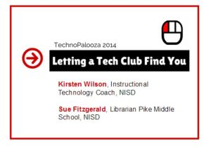 Tech Club palooza presentation