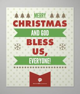 Merry Christmas God Bless