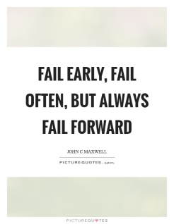 fail forward quote
