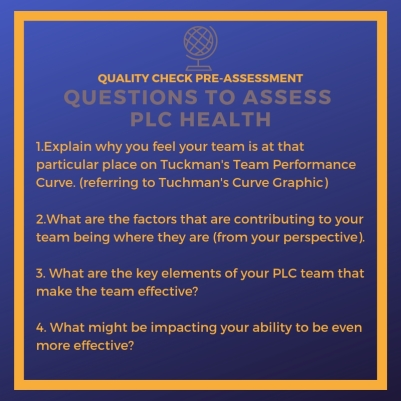 Questions to assess PLC Health