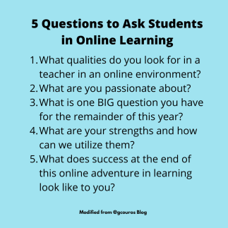 5 Questions to Ask Sutdents